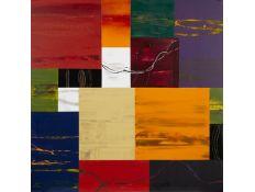 Tela Abstracto colores