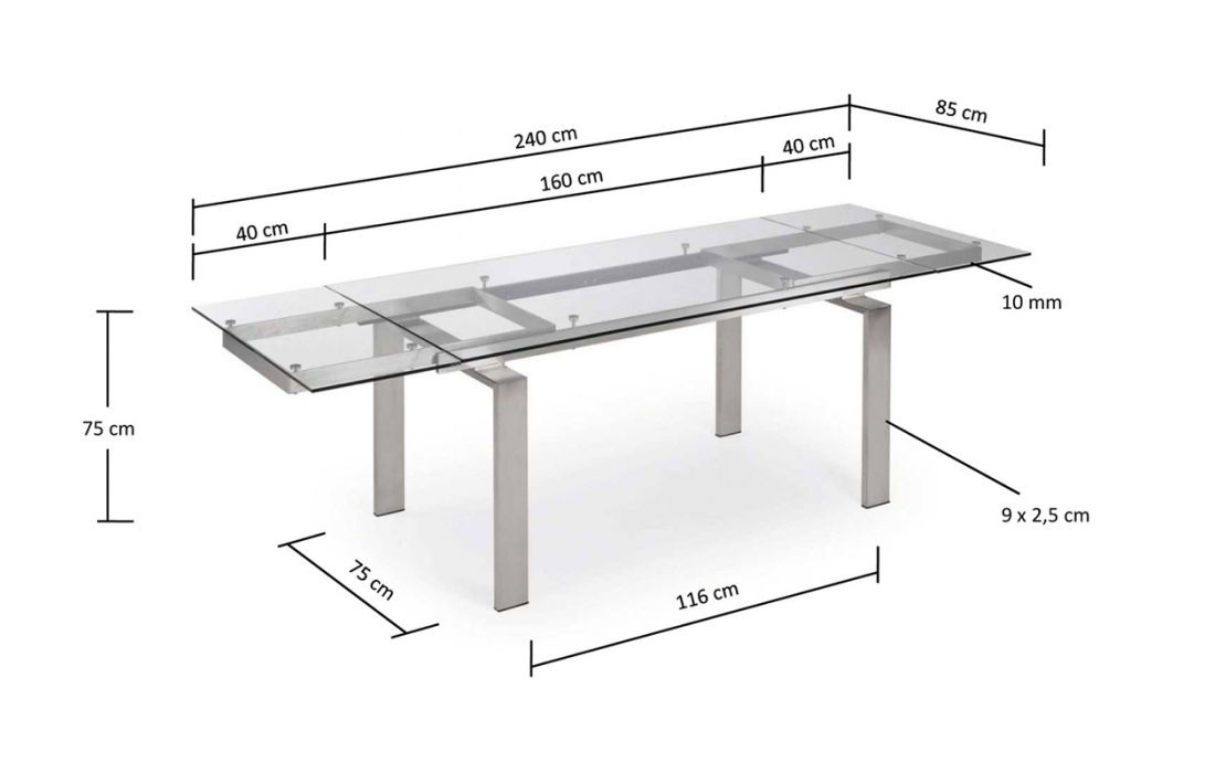 Dining Table Extensible Anoroc