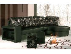 Sofa with chaiselong  Ortsa