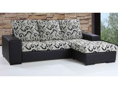 Sofa with chaiselong Aluap
