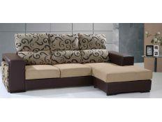 Sofa with chaiselong Ecnil