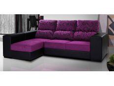 Sofa with chaiselong Raugaj