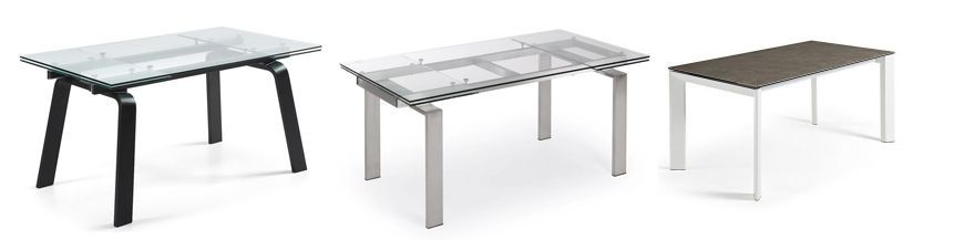 Kitchen extensible tables