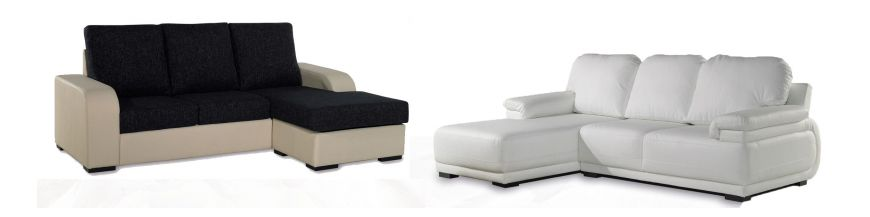 Sofas with chaiselong low cost