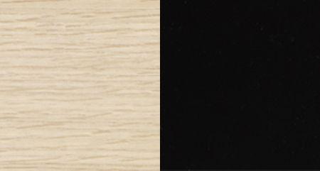 XOAK NATURAL + LACQUER HS BLACK