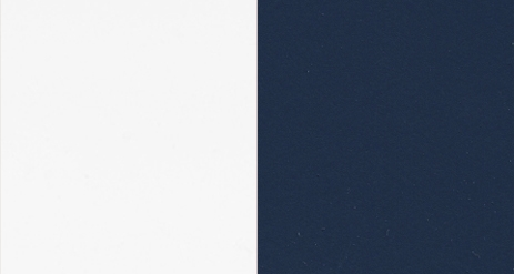 .LACQUERED HIGH GLOSS WHITE 30+LACQUERED HIGH GLOSS DARK BLUE 49