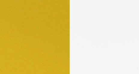 .LACQUERED HIGH GLOSS WHITE 30+LACQUERED HIGH GLOSS YELLOW 56