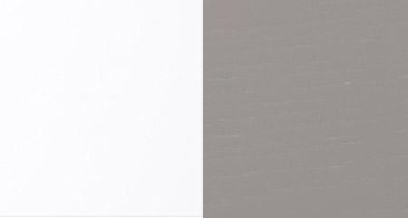 XSILVER OAK M09 + LACADO HIGH GLOSS WHITE